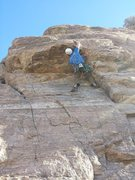 """Rock Climbing Photo: Andrew """"Monster Reach"""" Nelson takes the ..."""