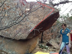 Rock Climbing Photo: A special joint throws from the crimp rail to the ...