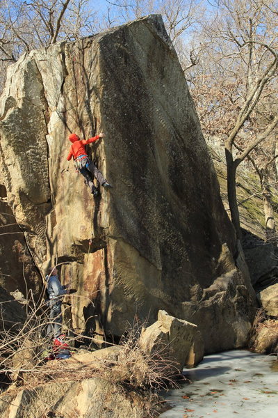 Rock Climbing Photo: Ripples Boulder