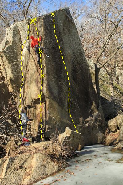 Ripple Boulder Arete