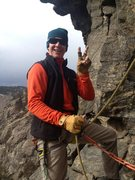 Rock Climbing Photo: Peaceful top-rope belaying.