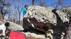 First Ascent of Green Mosster