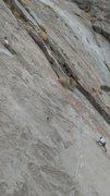 Rock Climbing Photo: Falling Shirkins, Dry Falls. Dave Cox & Mike Fogar...