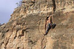 Rock Climbing Photo: finish. photo by Lindsey Western