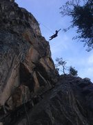Rock Climbing Photo: Fun varied route with a tricky start and steep jug...