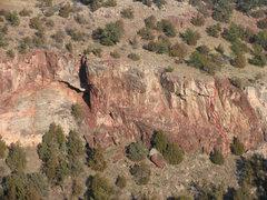 Rock Climbing Photo: Ecoblast