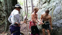 Rock Climbing Photo: Climbing with my brother and family in The Ozarks!