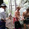 Climbing with my brother and family in The Ozarks!
