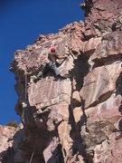 Rock Climbing Photo: Ryan at the Ecoblast Anchors