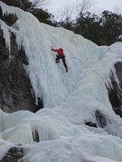 Rock Climbing Photo: Gros Bras, Upper section