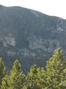 Rock Climbing Photo: Steep walls prevail on the west side north of the ...