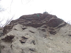 Rock Climbing Photo: Tane O. just getting to the anchors on Taliban Sou...