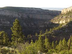 Rock Climbing Photo: steep wall