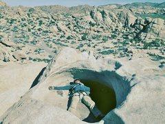 Rock Climbing Photo: After climbing Overhang Bypass...
