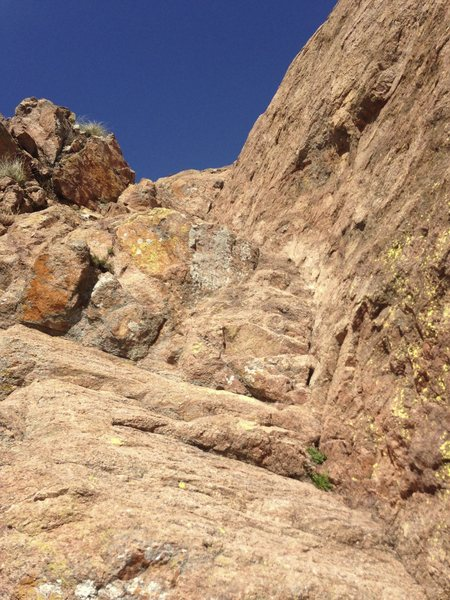 Rock Climbing Photo: Central Ramp