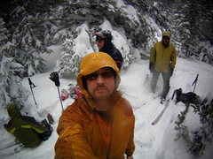 Rock Climbing Photo: Back-country Skiing with Mike Colacino, Bill Dunca...