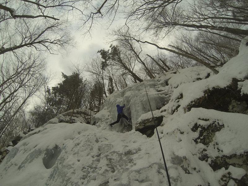 Rock Climbing Photo: hobo wall, mt tremper