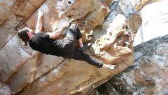 Rock Climbing Photo: Super Mario V4 LRC