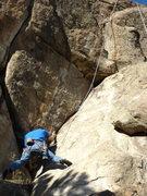 Rock Climbing Photo: The Leaning Corner.