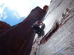 Rock Climbing Photo: Tequila Sunrise 10d