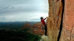 Rock Climbing Photo: Just off the third pitch of Sedona Scenic Cruise! ...