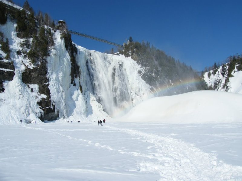 Montmorency Falls<br> Photo by Jacques Bou