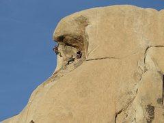 Rock Climbing Photo: Overhang Bypass left route.