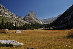 Rock Climbing Photo: Whaleback, seen from Big Wet Meadow in Cloud Canyo...