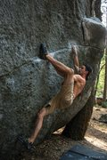 Rock Climbing Photo: Andrew Bellisle on Zorro (V4) photo credit to Matt...