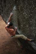 Rock Climbing Photo: Andrew Bellisle on The Angler Photo Credit to Matt...