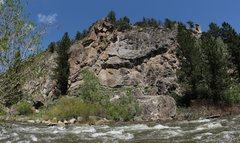 Rock Climbing Photo: The True Value Crag