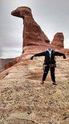 Rock Climbing Photo: Tezcatlipoca, Moab Utah