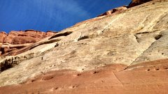 Rock Climbing Photo: Baker Slab Mid