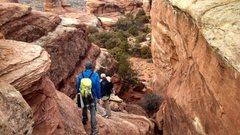 Rock Climbing Photo: The staircase