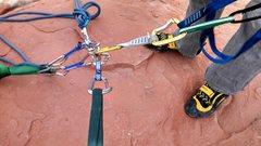 Rock Climbing Photo: 3 people safe up top