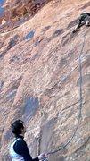 Rock Climbing Photo: Belay and Climber