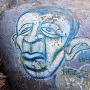 Rock Climbing Photo: Typical Melrose Masterpiece.