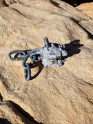 Rock Climbing Photo: I've seen plenty of homemade hangers, but this is ...