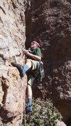 "Rock Climbing Photo: Starting up ""Oolong."""