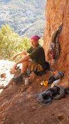 Rock Climbing Photo: Having a spot of tea, in the Tea Room.