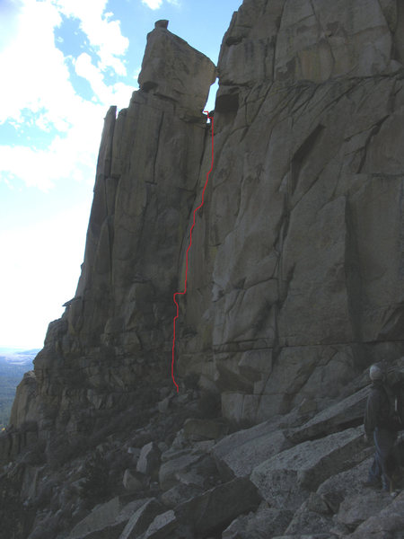 the Friendly route on Friend Pinnacle