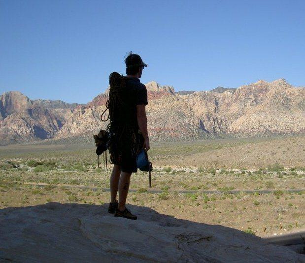Rock Climbing Photo: Red Rocks Vista