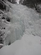 Rock Climbing Photo: Black Chasm Falls on February 15, 2014