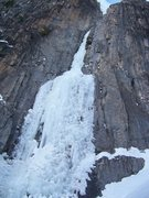 Rock Climbing Photo: Ames Ice Hose, CO 2-16-14