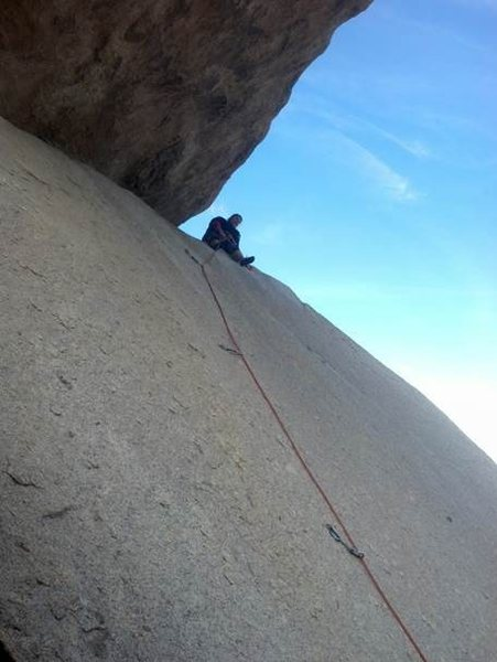 Rock Climbing Photo: First time LEAD CLIMBING!!!