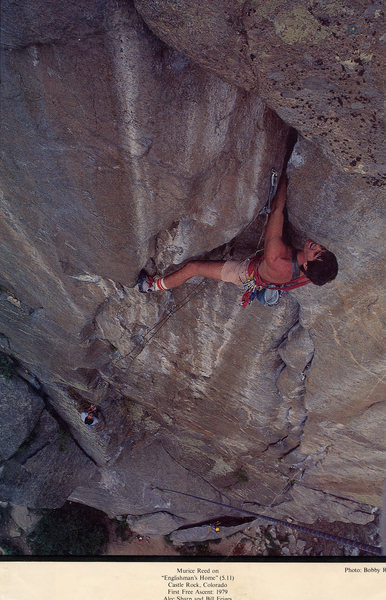 Maurice Reed on Englishman's Home/Castle Rock/ Boulder Canyon,Co.<br> Photo: Bobby Rotert