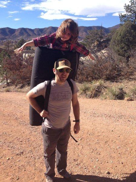 bouldering kid pack