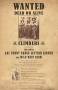 Rock Climbing Photo: AAC Front Range Dinner poster.