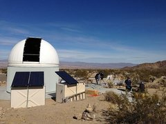 Rock Climbing Photo: Sky's the Limit Observatory, 29 Palms Area
