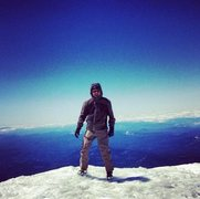 Rock Climbing Photo: Summit of Mt. Adams
